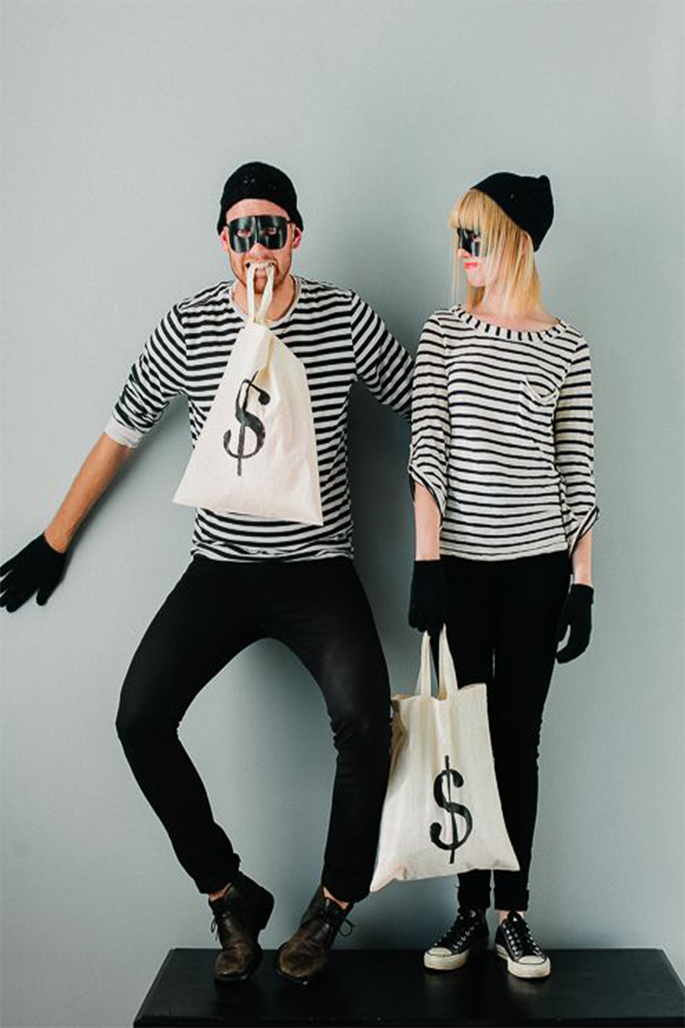 HALLOWEEN COSTUME IDEAS THAT WON'T BREAK THE BANK - Burglar