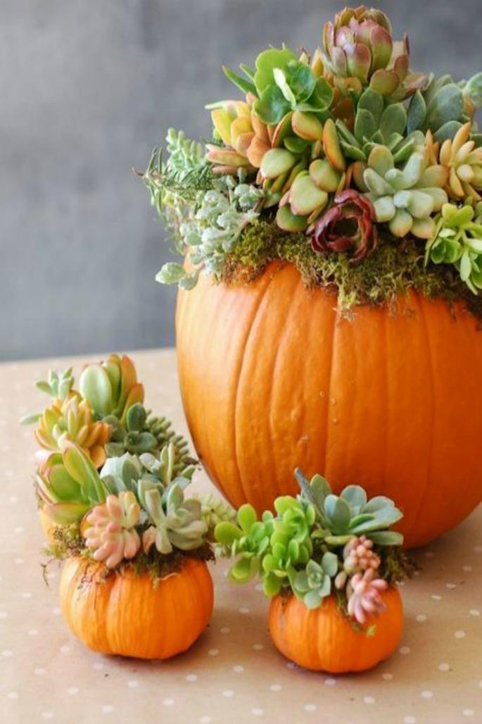 Thanksgiving Home Decor Ideas - Greenary