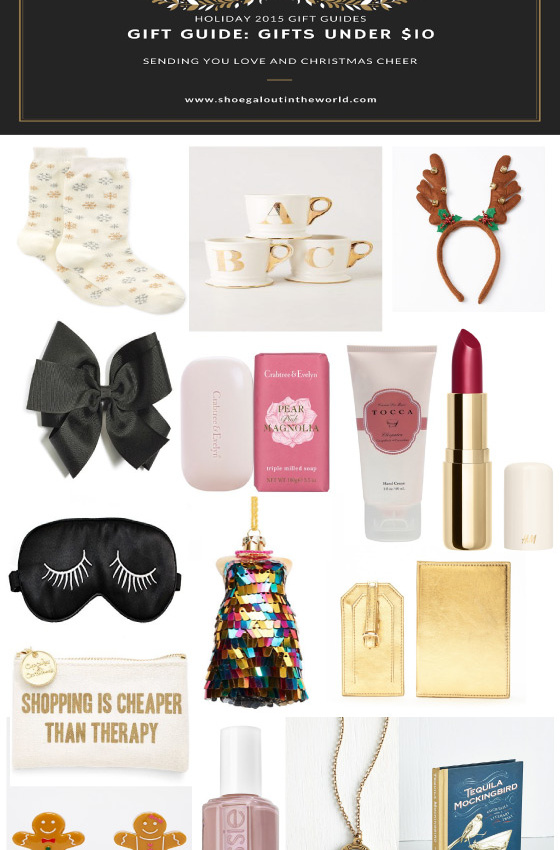 Gift Guide Gifts Under 10 Archives Shoegal Out In The World