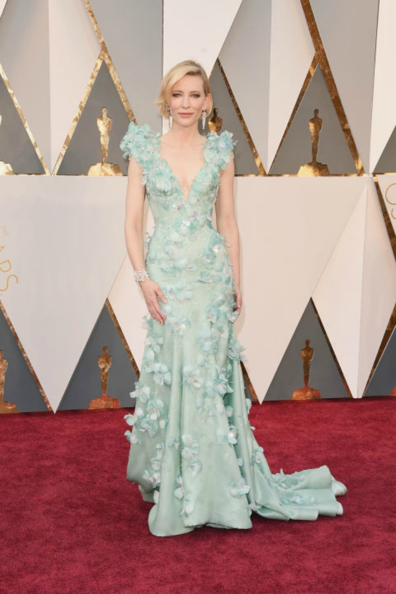 Oscars 2016 Best Dressed - Cate Blanchett in Armani Prive