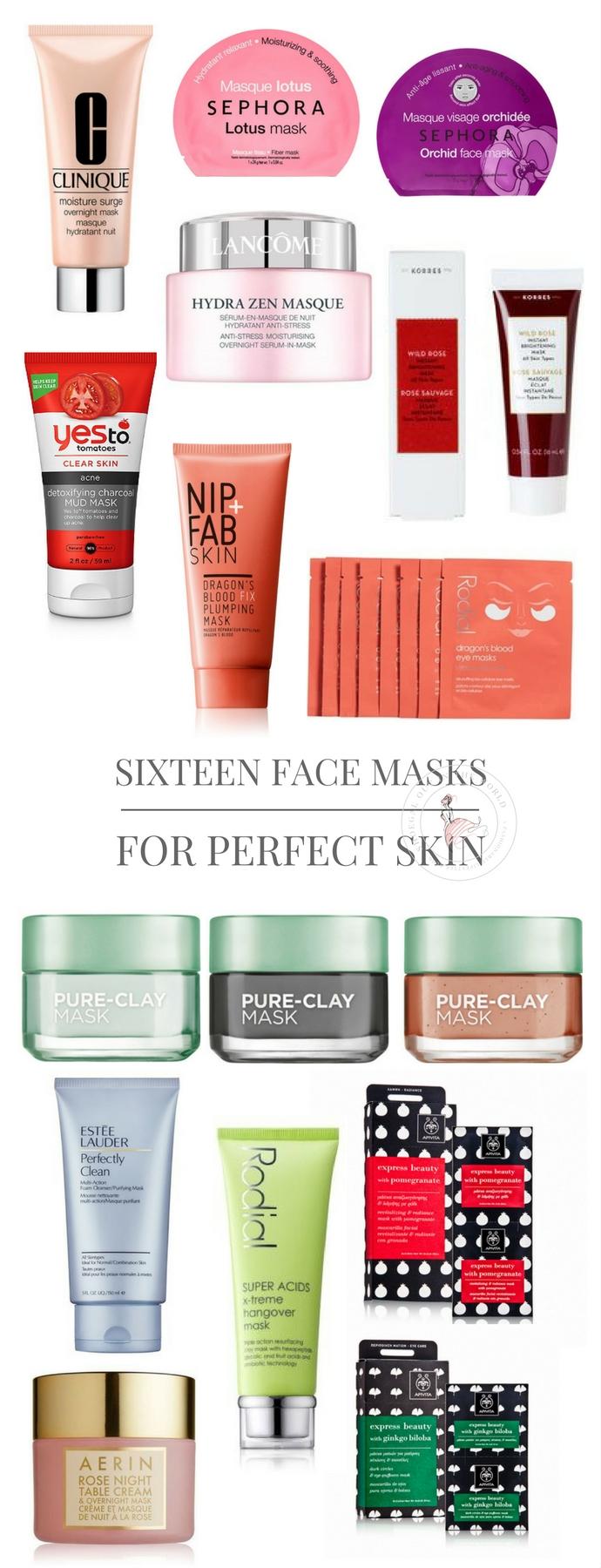 Sixteen Face Maska for Perfect Skin