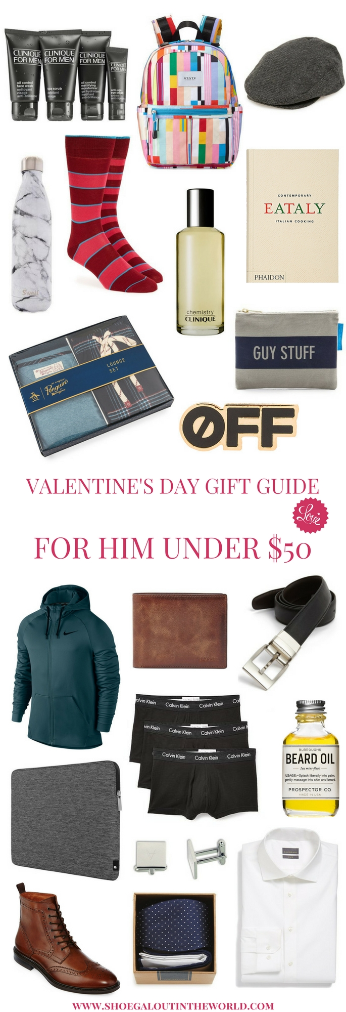 DAY GIFT GUIDE FOR HER & HIM UNDER $50
