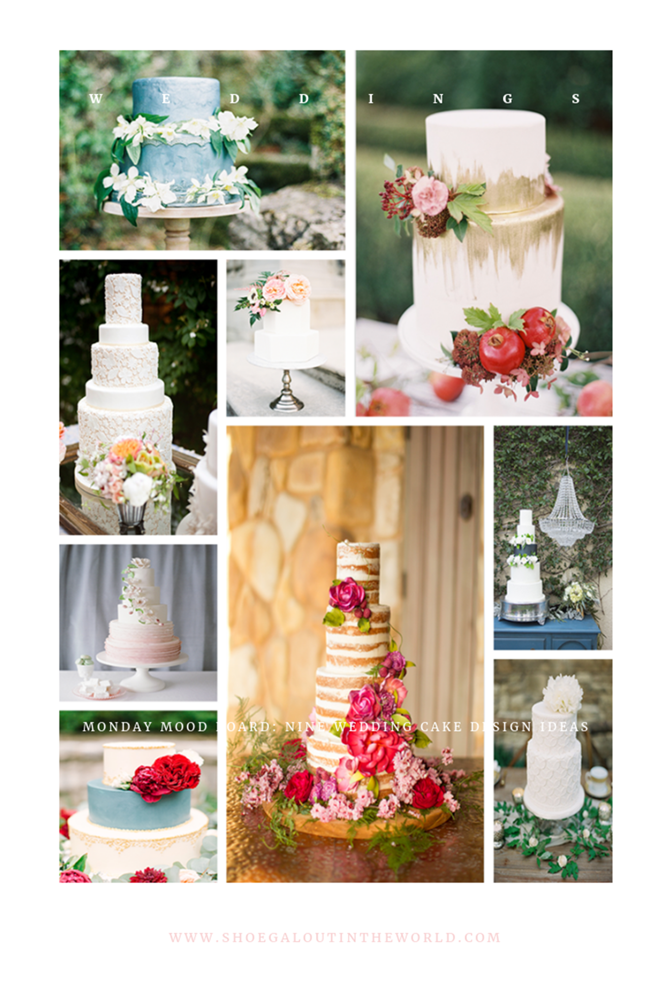 Nine Wedding Cake Design Ideas Shoegal Out In The World,Minimalist Negative Space Logo Design